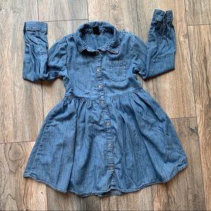 EUC Gap Kids girls denim dress